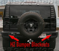 H2 Hummer Bumper Blackout Kit