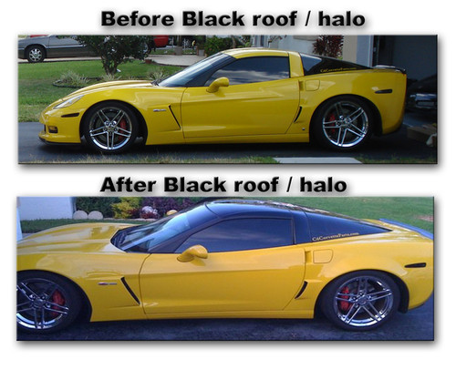 C6 Z06 Corvette Roof Amp Halo Conversion Gscreations