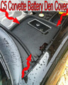 C5 Corvette Battery Den Cover