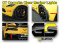 C7 Stingray Corvette Clear or Smoked Side & Rear Bumper Markers (6 piece kit)