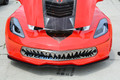2014 C7 Corvette Stingray - Polished Stainless Steel Shark Tooth Grille