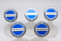 "2014 Automatic Corvette Stingray - Fluid Cap Cover 5Pc Set With ""Corvette"" Lettering"