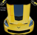 C7 Corvette Stingray Hood Vinyl Graphic Decal Stinger Style