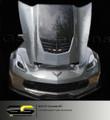 C7 Corvette Hood Decal Carbon Flash (LT4 Z06 Hood Only)