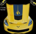 C7 Corvette Hood Stripe w/ Stingray Graphic Logo