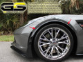 C7 Corvette GM C7 Z06 Front Wheel Opening Moldings Spats Painted Carbon Flash