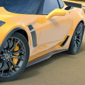 C7 Corvette Z06 Style Side Rockers for Z06, Z07 or Grand Sport ACS