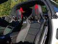 C7 Stingray Z06 Grand Sport Corvette Black Suede Headlining Trim Roof Panel