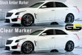 2016 2017 Cadillac CTS-V Side / Rear Bumper Markers