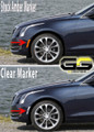 2014 2015 2016 2017 Cadillac ATS CLEAR or SMOKED Front Side Markers