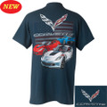 C7 CORVETTE GRANSPORT CORVETTE FLAG TEE