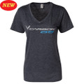 C7 Corvette Carbon 65 LADIES Short Sleeve Tee T-Shirt