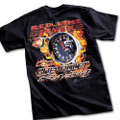 Chevrolet Racing RED LINE FEVER Black Tee T-Shirt