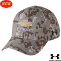 CHEVROLET GOLD BOWTIE UNDER ARMOUR DIGI CAMO CURVED BILL Base Ball CAP HAT