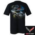 C7 Z06 Corvette Race Proven Tee T-Shirt Black Cotton