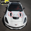 Corvette C7 Z06 Hood Heat Extractor Kit