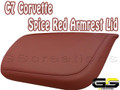C7 Stingray Z06 Grand Sport Corvette Spice Red Armrest Lid Leather