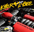 Halltech Killer Bee C6 Z06 Corvette Cold Air Induction Red FRC Matching Color