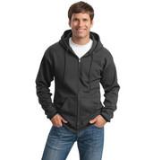 Port & Company® - Ultimate Full-Zip Hooded Sweatshirt