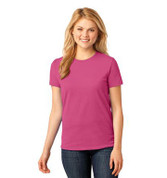 Port & Company® Ladies 5.4-oz 100% Cotton T-Shirt