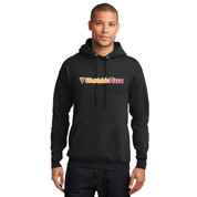 Westside Pizza Hoodie with Sleeve Print