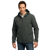 Port Authority® Textured Hooded Soft Shell Jacket