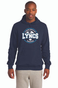 LC Youth/Mens Hoodie, Logo D