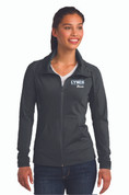 LC Ladies Stretch Full Zip Jacket, Logo A