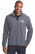 LC Mens Microfleece Full Zip Jacket, Logo A