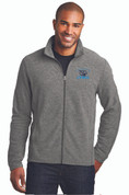 LC Mens Microfleece Full Zip Jacket, Logo B