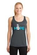 Be The One Ladies Tank Top (Logo B)