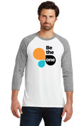 Be The One Mens 3/4 Sleeve (Logo A)