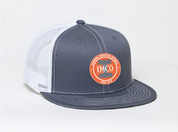 IMCO D-Series Adjustable Trucker Hat with Patch