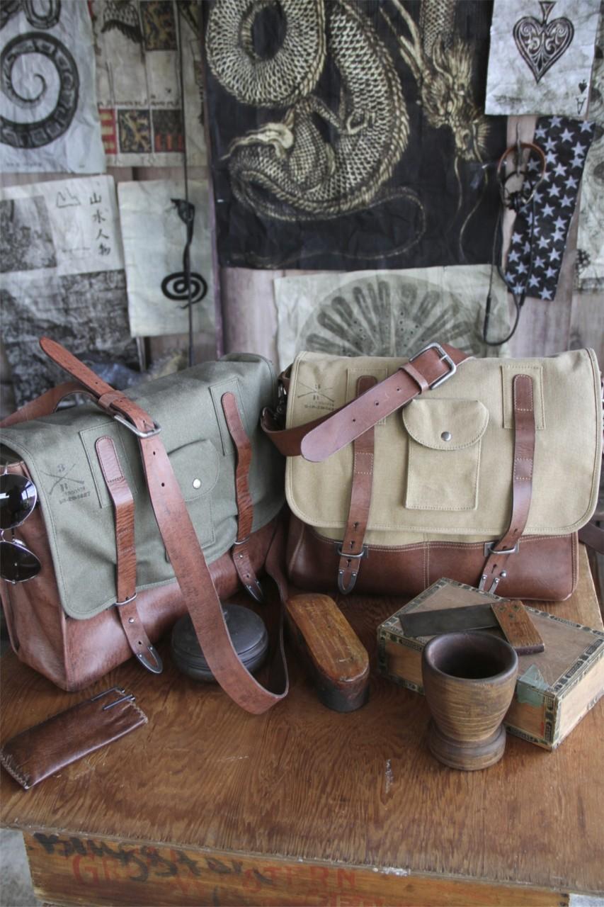 Parson Gray Messenger Bag