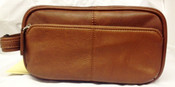 Osgoode Marley Cashmere Triple Zip Toiletry Shave Kit