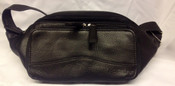 Osgoode Marley Cashmere Leather Waist Pouch with credit card organizer