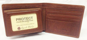 Osgoode Marley Cashmere Leather RFID Blocking Passcase ID Bifold Mens Wallet