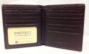 Osgoode Marley Cashmere Leather RFID Mens Hipster Wallet