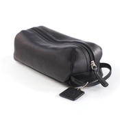 Osgoode Marley Cashmere Leather Compact Toiletry Kit