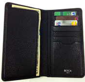 Bosca Tribeca Leather Coat Pocket Mens Wallet