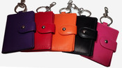 iLi Leather Key Fob with I.D. Window