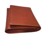 Osgoode Marley Cashmere RFID Blocking Mens Tri-Fold Leather Wallet
