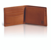 Hartmann Heritage Classic Belting Leather Bifold Wallet w/ Removable I.D. Card Case