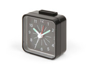 Kikkerland Mini Glow in the Dark Travel Alarm Clock