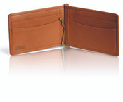 Hartmann Heritage Classic Belting Leather Wallet w/ Flip Money Clip
