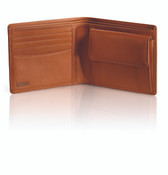 Hartmann Heritage Belting Leather Medium Bifold Wallet w/ Coin Pocket
