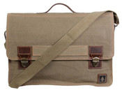 "DamnDog Work Bag Canvas Flapover Messenger 15"" Computer Bag"