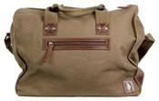 "DamnDog Under Gear Box Canvas 15"" Satchel Carry-On Bag"