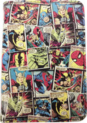 Marvel Comics Multi Character Comic Mania Print Passport Case