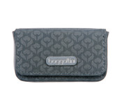 Baggallini Blossom Embossed Broadway Womens Business Card Case